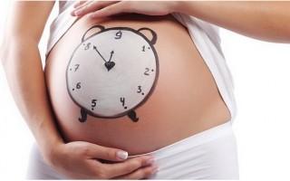 Когда начнутся роды, если отошла пробка?