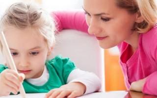 Как быстро научить ребенка писать