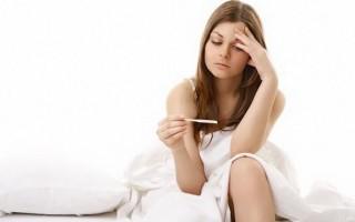 Температура при беременности: как ее сбить