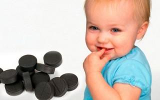Активированный уголь детям: отзывы и инструкция