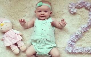 Ребенок в 2 месяца: развитие, что умеет