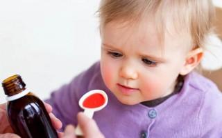 Сироп от кашля для детей: какой лучше