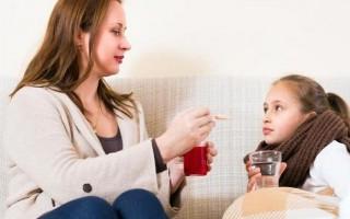 Народные средства от кашля для детей