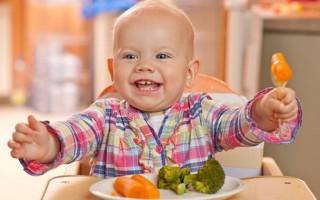 Меню ребенка в 10 месяцев: рецепты и правила