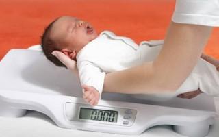 Нормы прибавки в весе у новорожденных по месяцам
