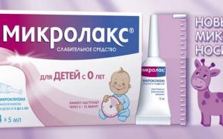 Микролакс для новорожденных: отзывы, инструкция