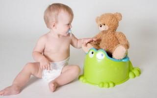 Как приучить ребенка к горшку: основные правила
