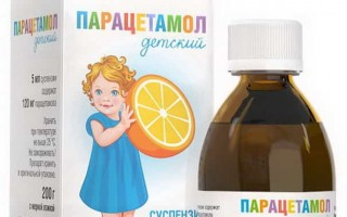 Сироп Парацетамол: инструкция по применению для детей