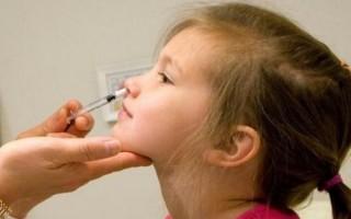 Прививка от гриппа детям: когда делать