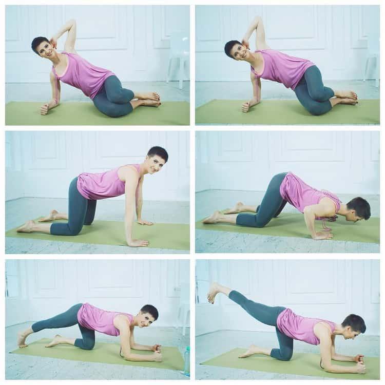 Какие упражнения можно делать на 16 неделе беременнности