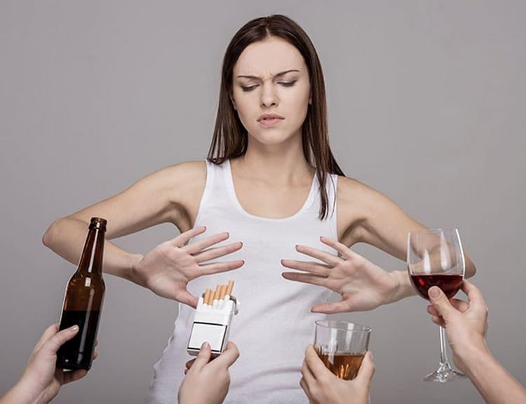 Очень важно на этом этапе отказаться от всех вредных привычек.