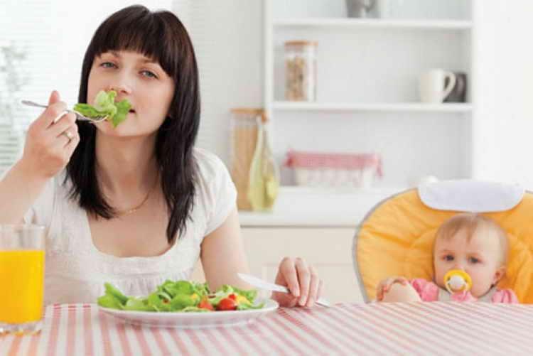 похудеть после родов при грудном вскармливании