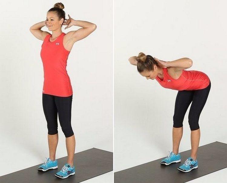 Во хорошие упражнения после кесарева сечения для похудения.