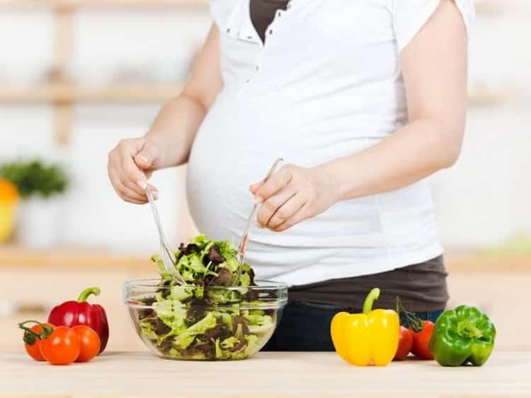 Правильный рацион питания беременной женщины