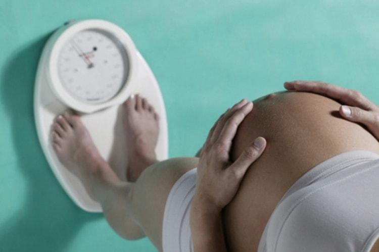 Потеря веса это тоже признак приближающихся родов.