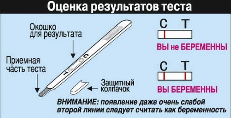 Инструкция к струйному тесту простая и удобная.