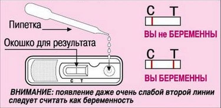 А вот инструкция для теста-кассеты.