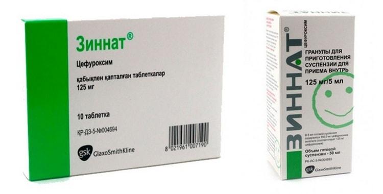 Зиннат: инструкция по применению антибиотика для детей