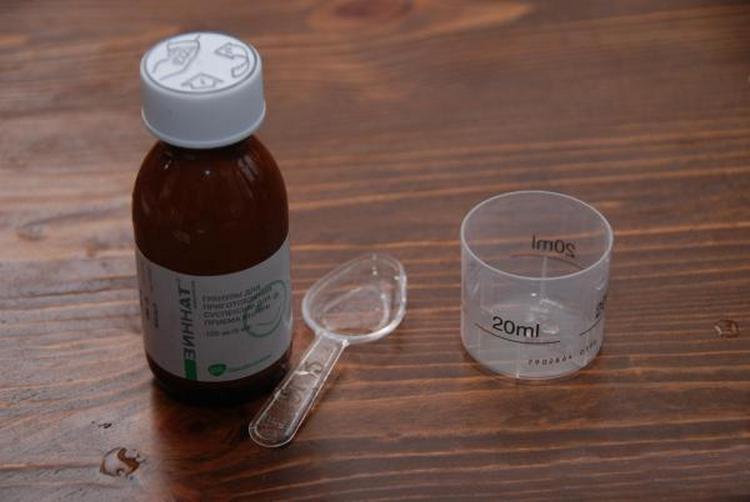 Зиннат 125 мг: инструкция по применению для детей и отзывы.