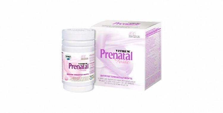 Витрум Пренатал Форте — витамины для беременных