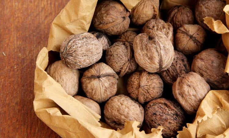 как выбрать грецкие орехи для беременных