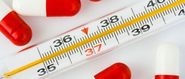 какие лекарства можно пить беременным при простуде и высокой температуре