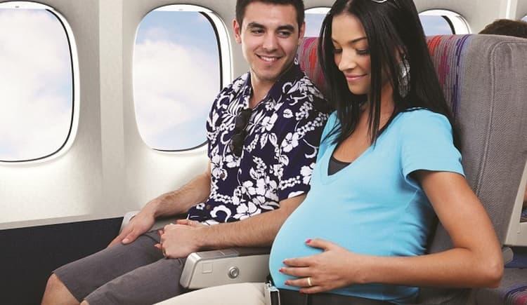 Второй триместр считается самым подходящим временем для перелетов во время беременности.