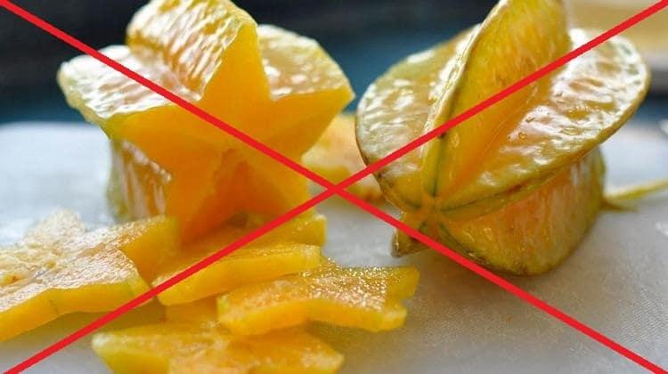 При кормлении грудью следует также отказаться от экзотических фруктов.