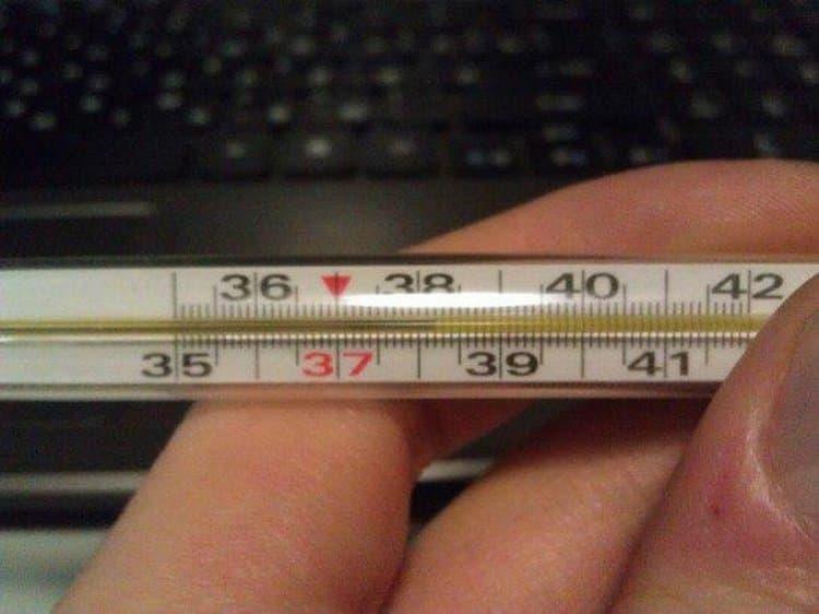 Поднятие температуры до 38-ми после этой вакцины считается нормой.