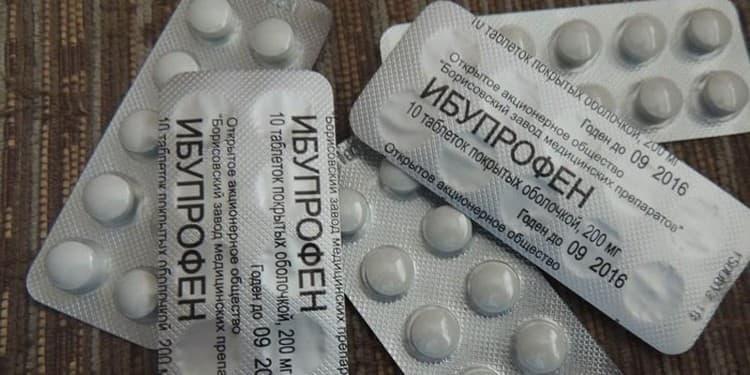 Наиболее популярен Ибупрофен в виде таблеток.