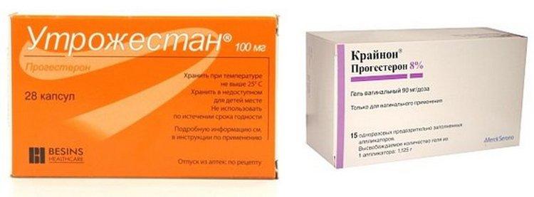 Вопрос о том, что лучше: Крайнон или Утрожестан, должен решать врач.