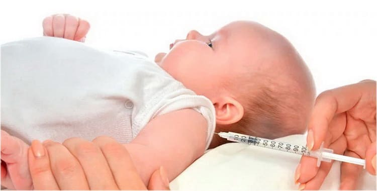 Ознакомьтесь с графиком прививок новорожденным по месяцам