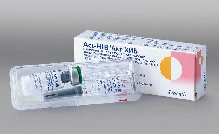 А в эту вакцину входит также еще и гемофильный компонент.