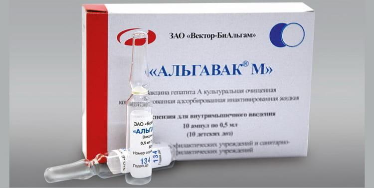 инструкция по применению и состав препарата альгавак м