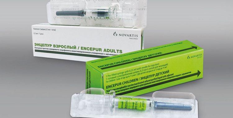 Вакцина Энцепур детский: как переносят прививку
