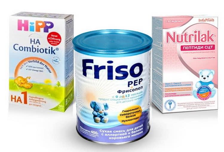 Что делать если аллергия у ребенка на белок коровьего молока