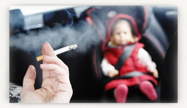 Курение при грудном вскармливании: влияние на ребенка
