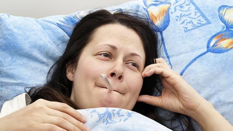 Что делать если болит грудь и температура при гв