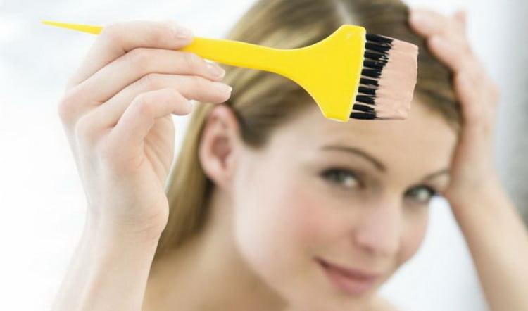 Каково воздействие краски на кожу головы и волосы
