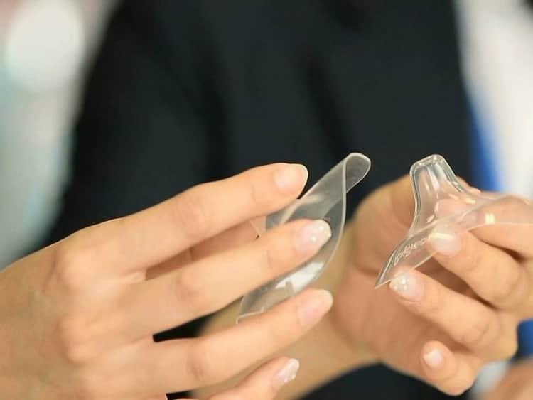 Как мыть силиконовые накладки на грудь