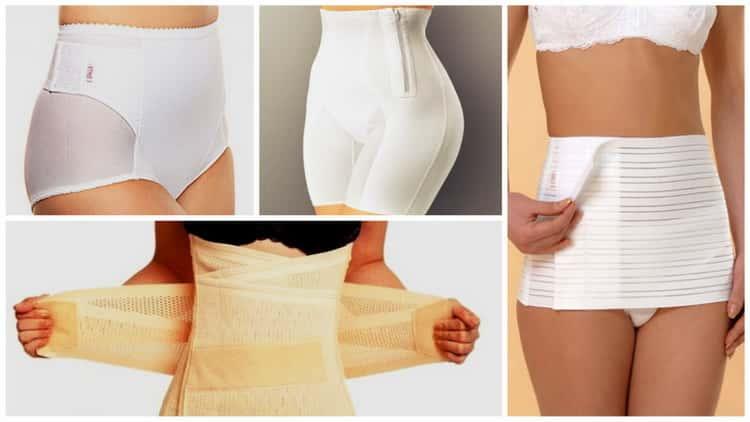 Все о том как правильно одевать послеродовой бандаж