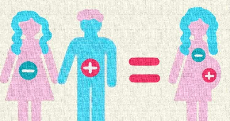 Гемолитическая болезнь новорожденных по группе крови может диагностироваться уже во время беременности.
