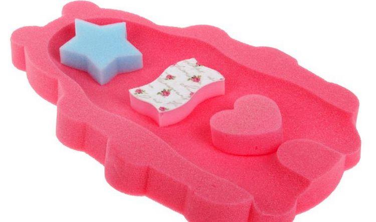 Можно также приобрести специальный поролоновый коврик для купания.