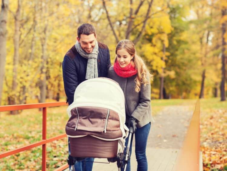 Когда следует гулять с ребенком