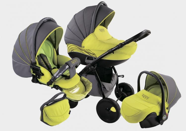 Еще какие вещи нужны для новорожденного, это коляска.