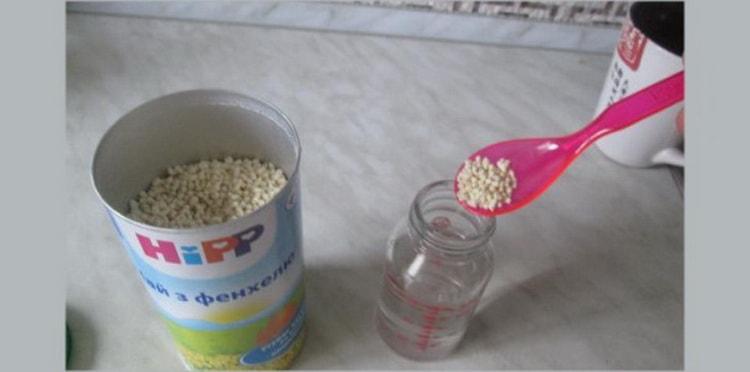как готовить целебный чай с фенхелем для новорожденных hipp
