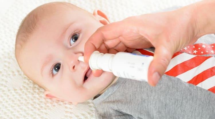 как правильно промывать нос аквамарисом грудничку