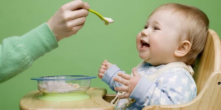 каша для прикорма детей