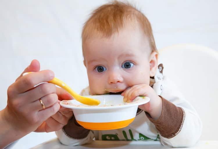 Какое меню ребенка в 8 месяцев
