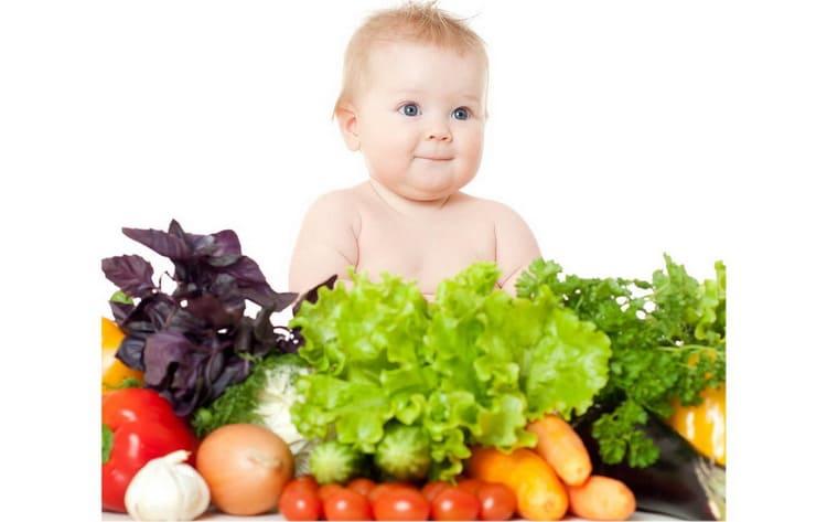 введение овощей в качестве прикорма при искусственном вскармливании